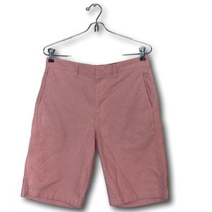 J Crew Mens Cotton Chino Style Shorts 29 Pink